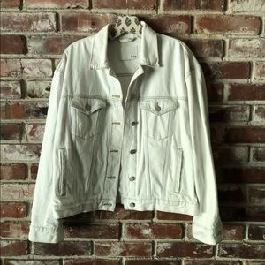Aritzia Wilfred free denim jacket Sz Large